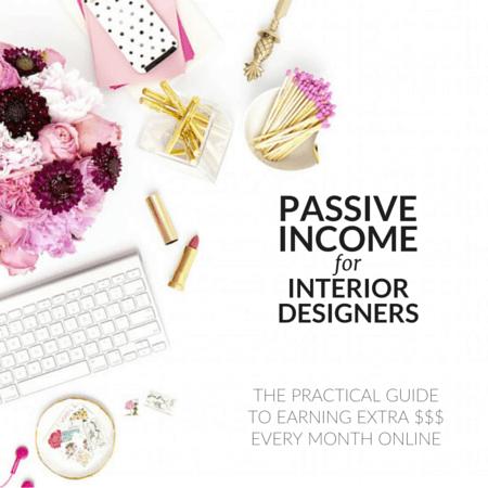 Passive Income For Interior Designers Design Pinterest