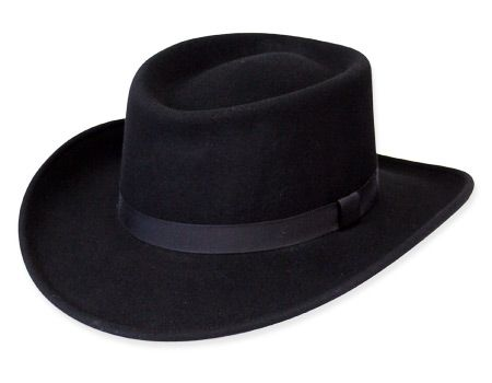 A dapper and stylish hat with a western flair. Reminiscent of the