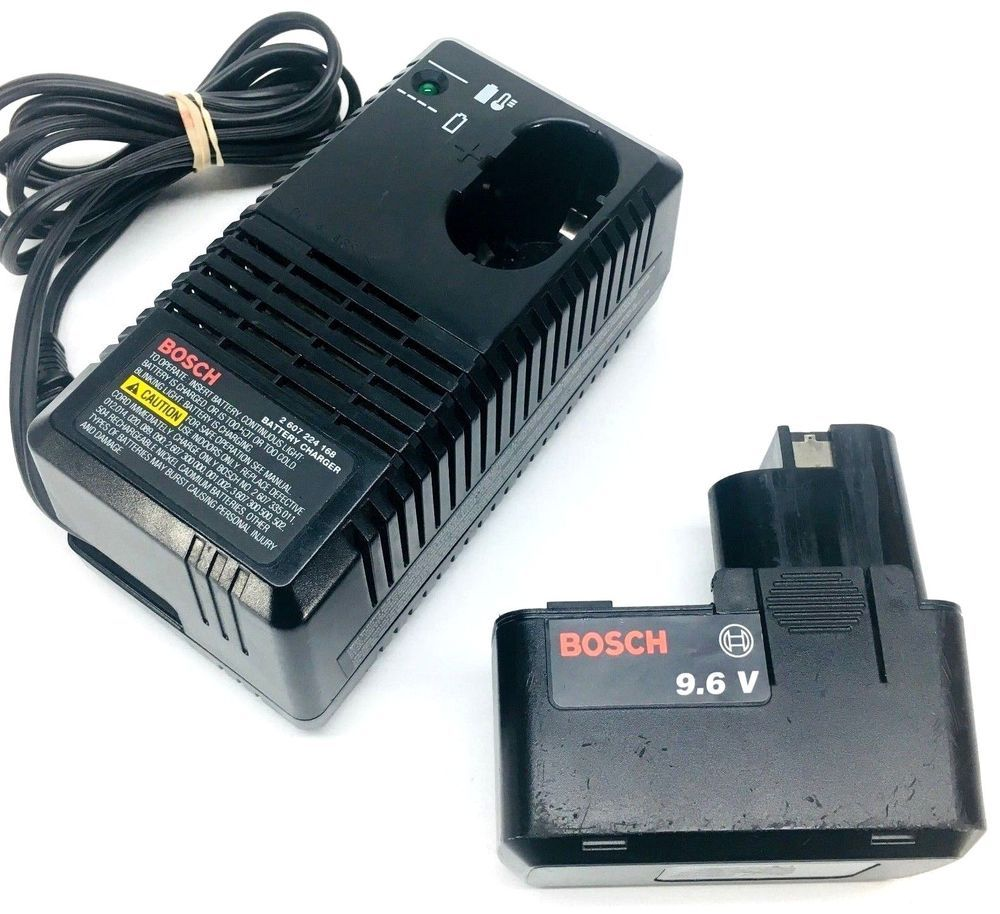 Authentic Bosch Battery Charger 2607224168 For 7 2 12v Battery And 9 6 Battery Bosch Battery Charger Bosch Charger