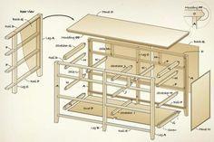 Plans To Build Dresser Construction Pdf Free Diy Furniture