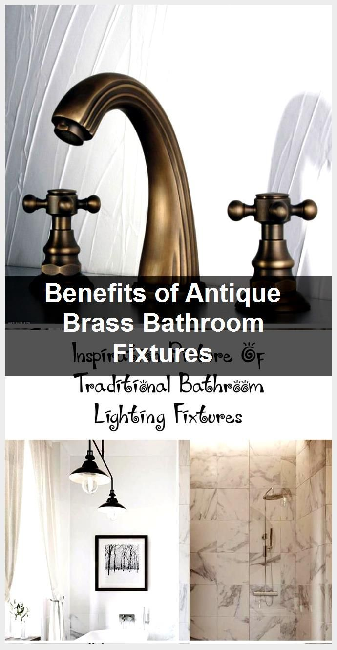Photo of Advantages of antique brass bathroom fittings, #Antique #Badroom #Advantages #Bra …