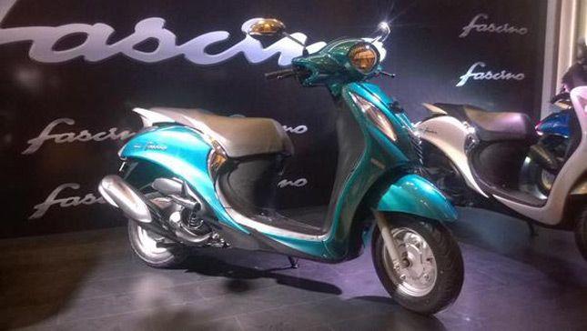Motor Yamaha Fascino Rilis Di Indonesia Motor