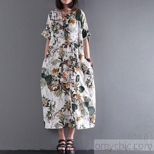 Köp Casual klänningar i Stora Storlekar Online | FASHIOLA.se