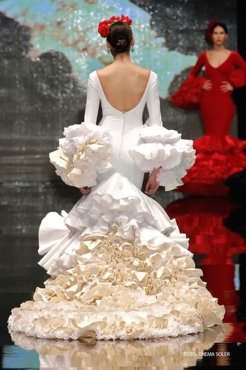 Vestidos de fiesta para bodas gitanas