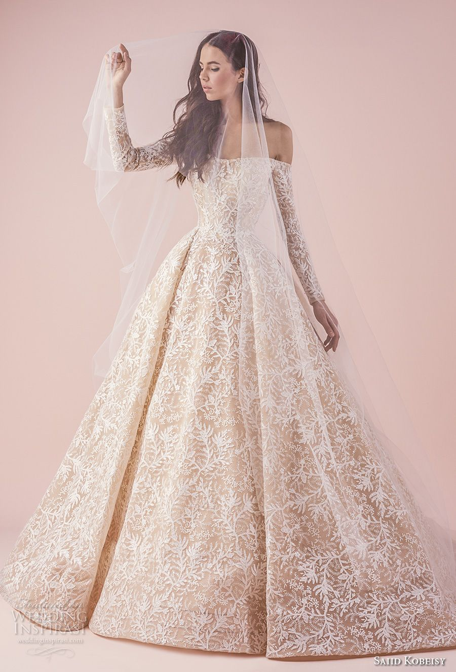 Saiid kobeisy wedding dresses bride pinterest blush color