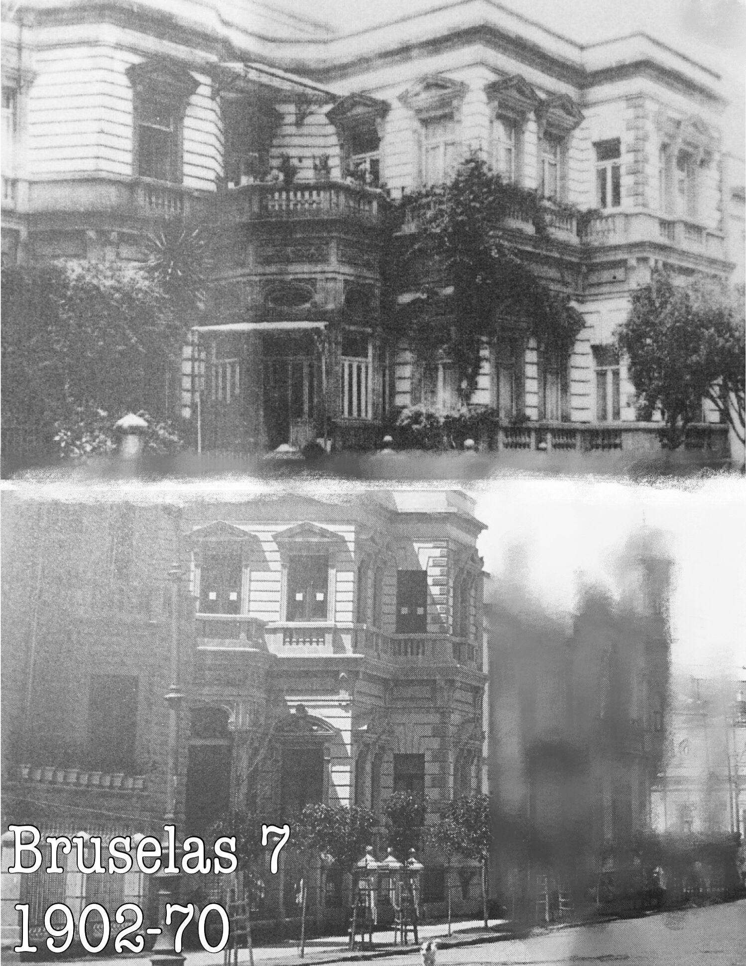 Bruselas 7, 1900-70