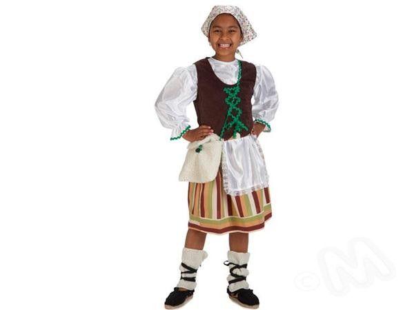 Disfraz infantil pastora con corpi o disfraces de navidad - Disfraces infantiles navidad ...
