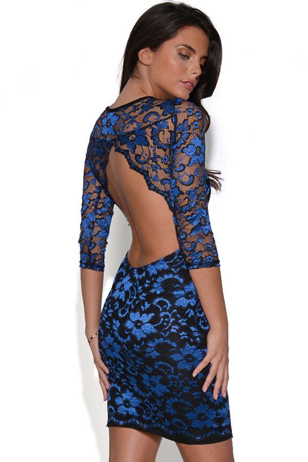 The Vestry Online | Backless Lace Dress £40 | Love Lace | Pinterest ...
