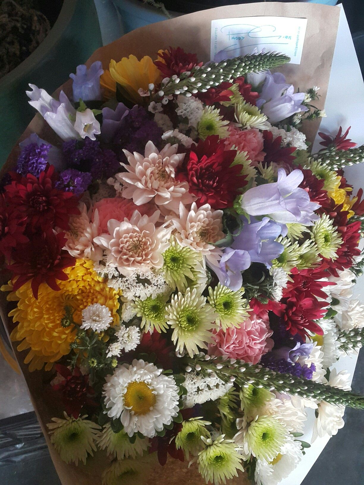 Bunch Of Flowers Visit Our Online Store At Www Paddygibb Co Za Flowers Florist Johannesburg Roses Arrangemen Bunch Of Flowers Floral Arrangements Floral