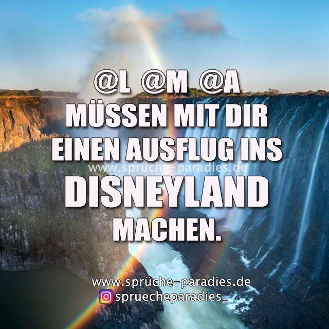 L @M @A müssen mit dir einen Ausflug ins Disneyland machen