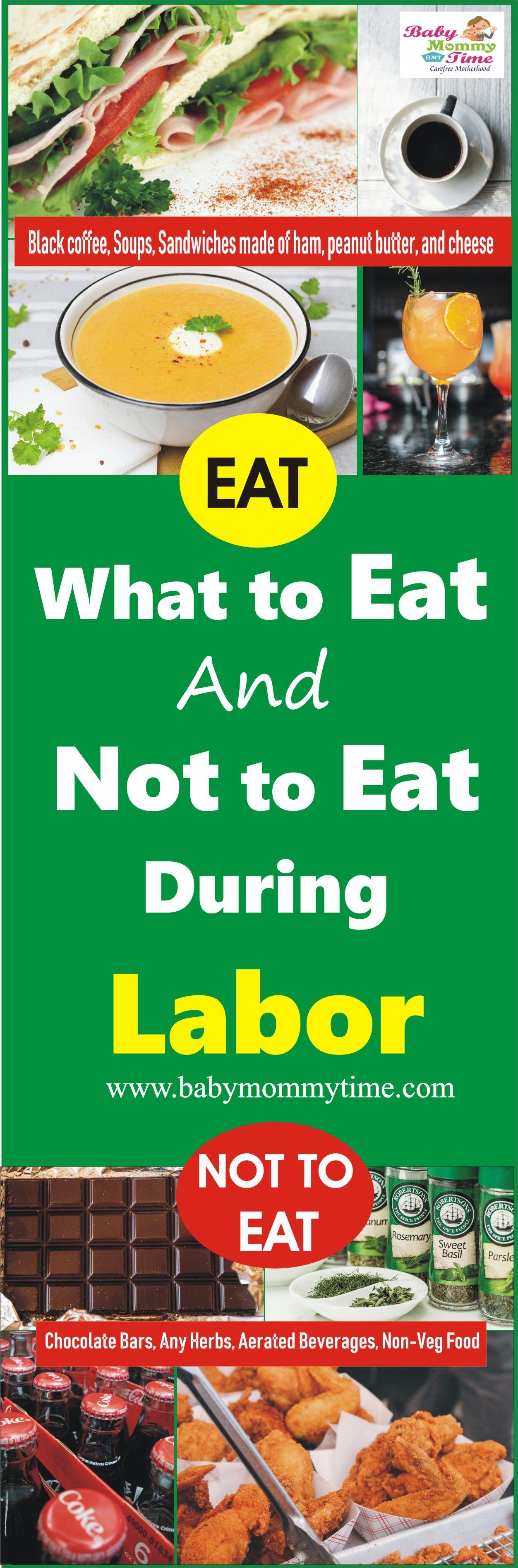 Was zu essen und was nicht während der Arbeit zu essen   – Pregnancy Care