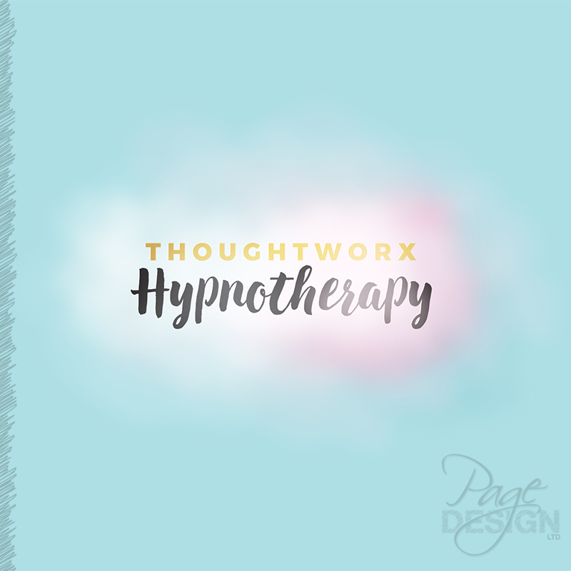 Logo design for Thoughtworx Hypnotherapy, Rotorua, New Zealand