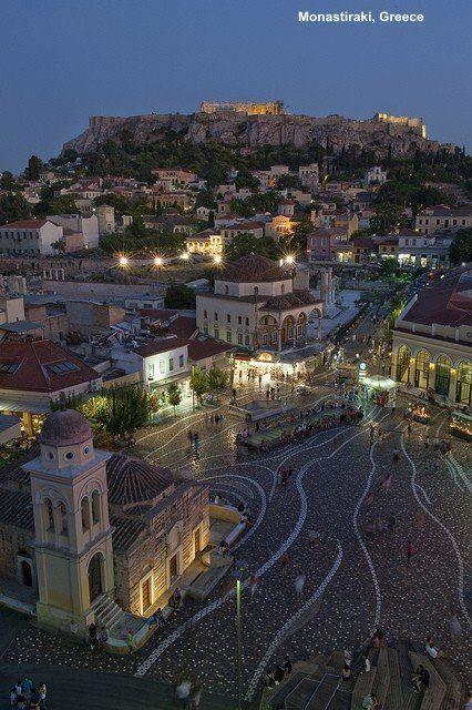 Monastiraki,Athens,Greece<3