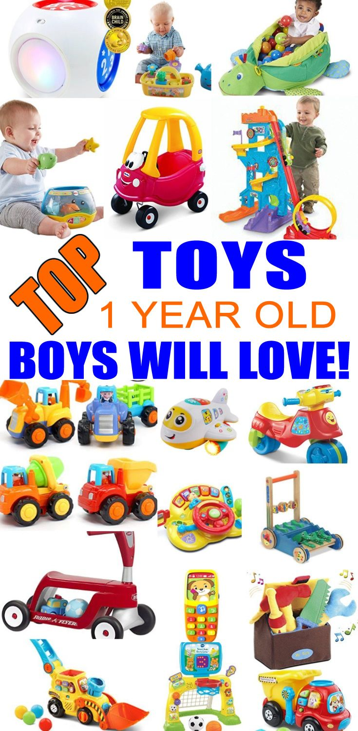 Top Toys For 1 Year Old Boys Best Toy Suggestions Gifts Presents A First Birthday Christmas Or Just Because Find The And
