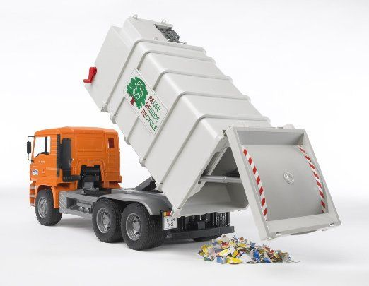 Robot Check Garbage Truck Toys Cool Toys