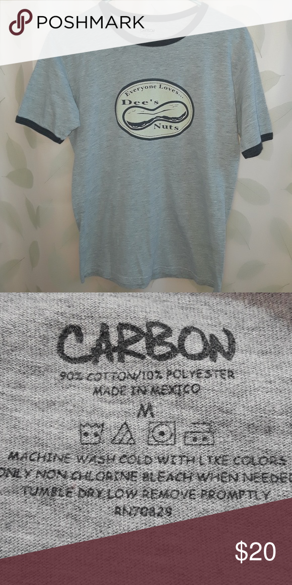 074890b6296ebd Carbon Graphic T-shirt A fun graphic tee in great condition. No holes or