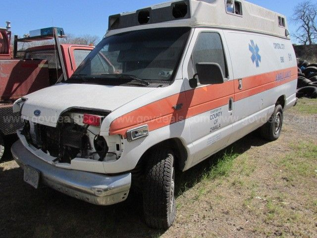 1993 Ford Econoline E350 Ambulance Type Ii Note The Size And