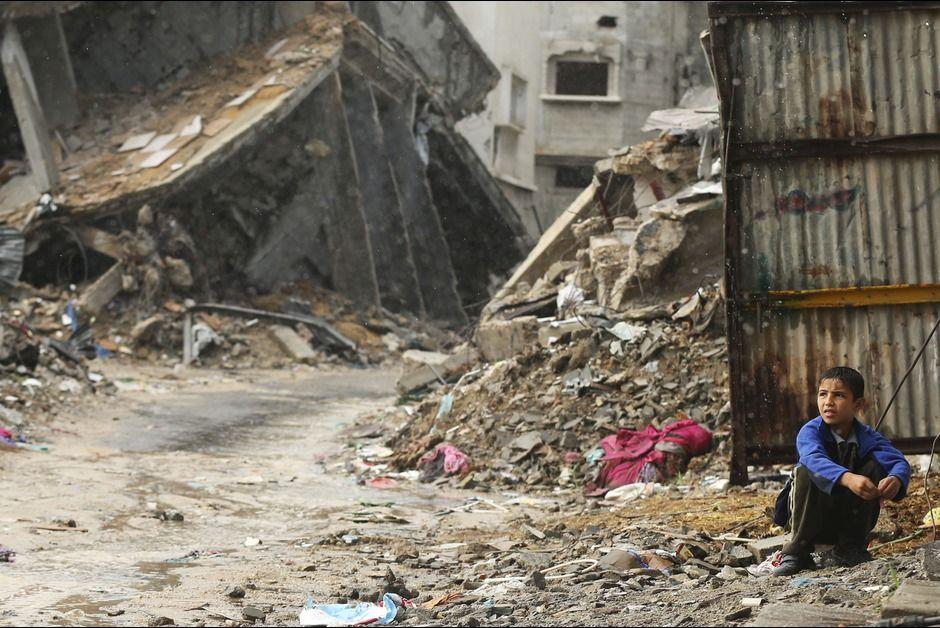 Gaza. Au milieu des ruines