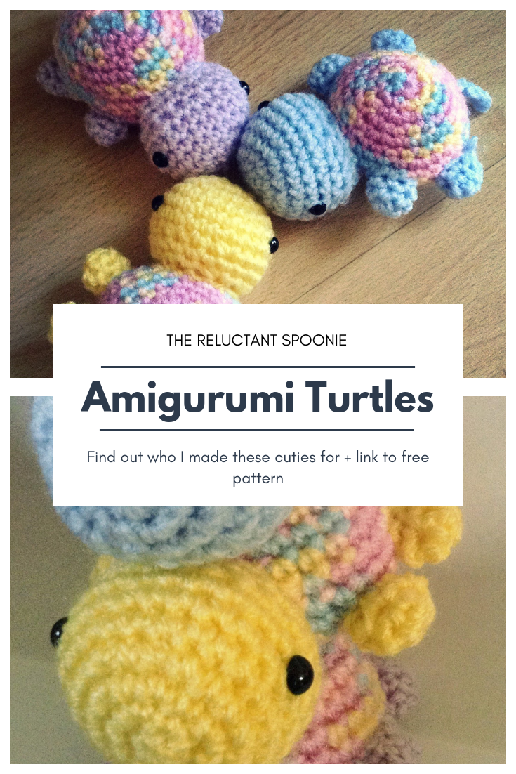Amigurumi Turtles #crochetturtles