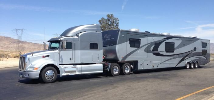 Continental Coach 57 Custom 2 Bedroom 2 Full Bathroom W 6 Slide Out Rooms Big Trucks Luxury Motorhomes Built Truck