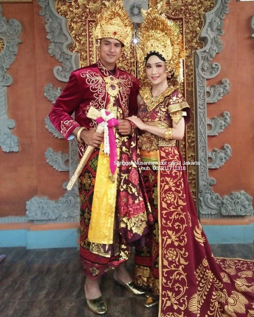 Pakaian Adat Bali Pria Dan Wanita