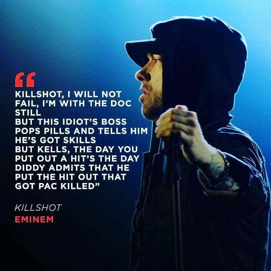 Eminem Killshot Eminem Lyrics Eminem Quotes Eminem