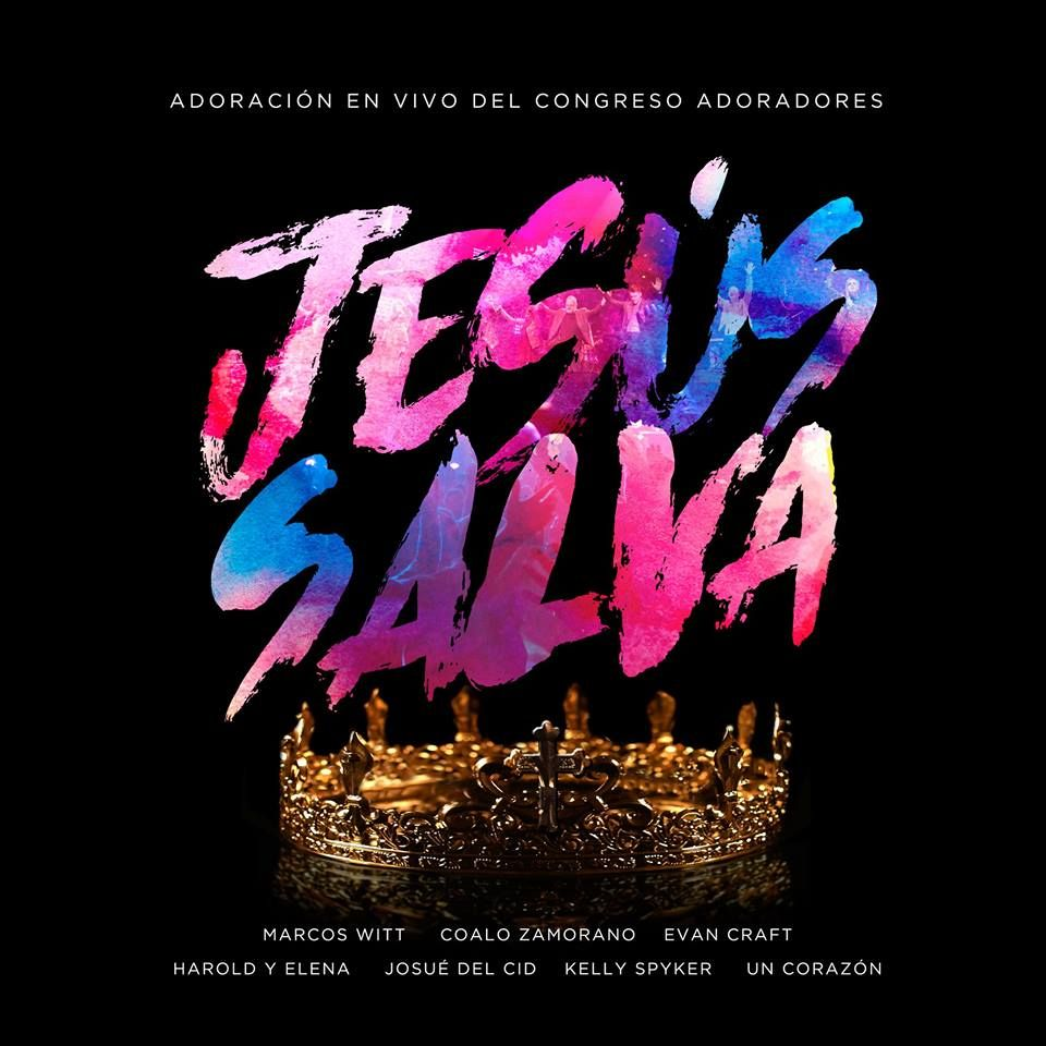 Les presentamos la portada oficial de #JesúsSalva, Adoración en vivo del Congreso Adoradores. Muy pronto daremos a conocer la primer canción #Jesús. #DosSemanas #SomosAdoradores