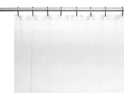 Royal Bath Stall Sized Vinyl Shower Curtain Liner 54 X 78