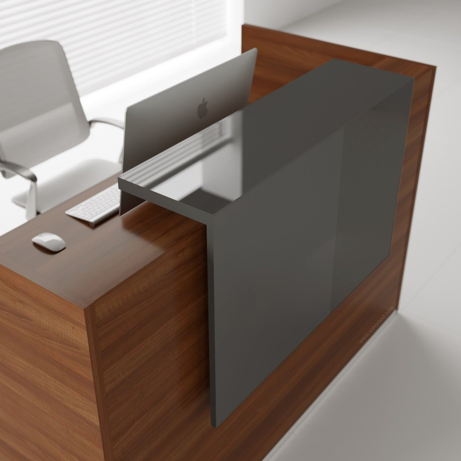 Add Class And Elegance To Your Work Space With This Simple Yet