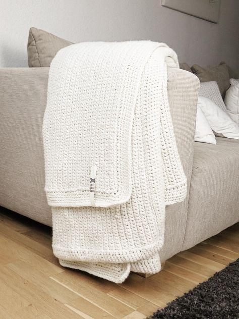diy handarbeit decke h keln h keln und decke h keln. Black Bedroom Furniture Sets. Home Design Ideas