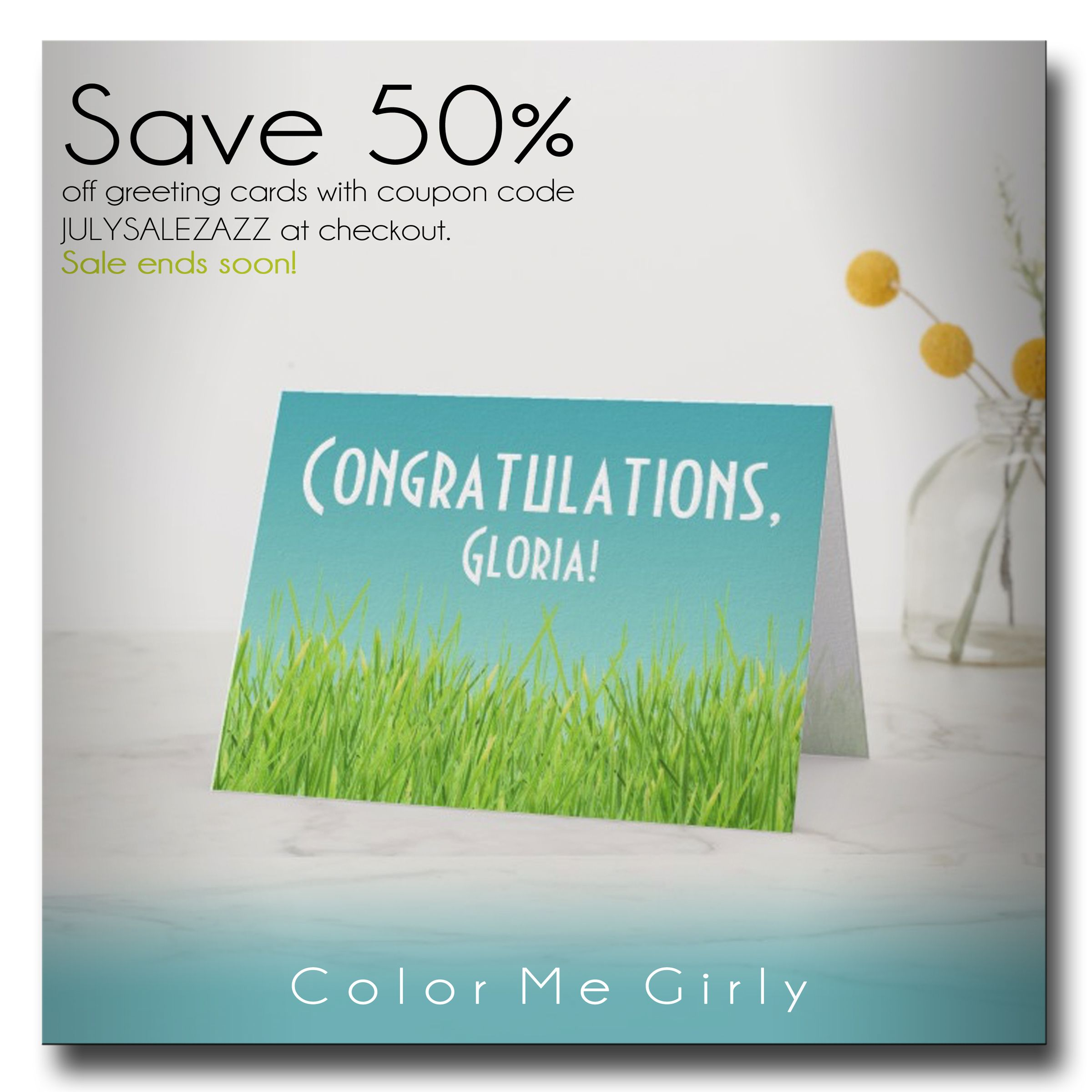 Save 50 off greeting cards with coupon code julysalezazz at save 50 off greeting cards with coupon code julysalezazz at checkout sale fandeluxe Images