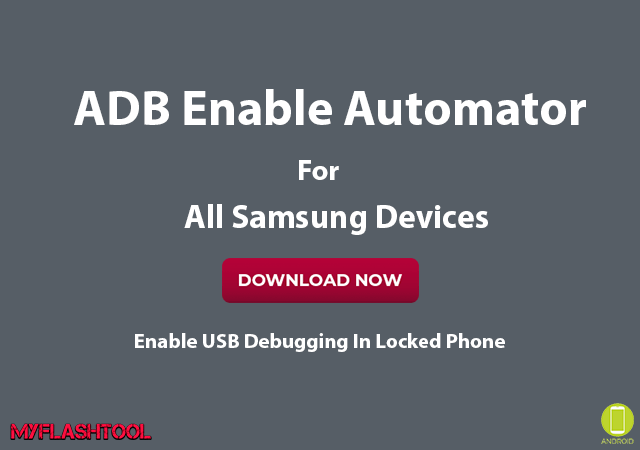 ADB Enable Automator is a tool which can help you to enable