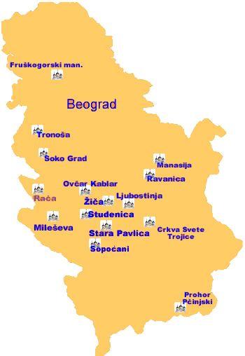 Srbija Manastiri Google Pretraga Serbia Unesco Monastery