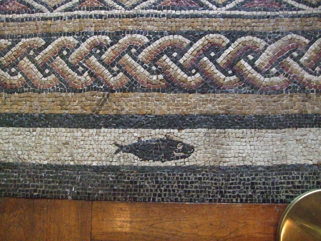 mosaic fish, Hearst Castle   Hearst castle, Mosaic, Castle