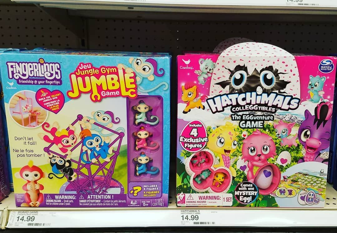 Has anyone played either one of these awesome looking games?! Let me know! .  Dont forget to check out our newest video in our bio! .  . #kidlife #kidsphoto #kidschannel #kidsofyoutube #activekids #kidswag #instakids . .  . . #cutekidsclub #kidshavingfun #kidsonyoutube #candidchildhood #youtubecommunity #youtubecreator #parenthoodunlocked #ig_kidsphoto #kidsyoutube #simplychildren #cutest_kiddies . .  . . #aceplaytime #ace #instagram #youtube #youtuber #kids #hatchimals #fingerlings #games #toys