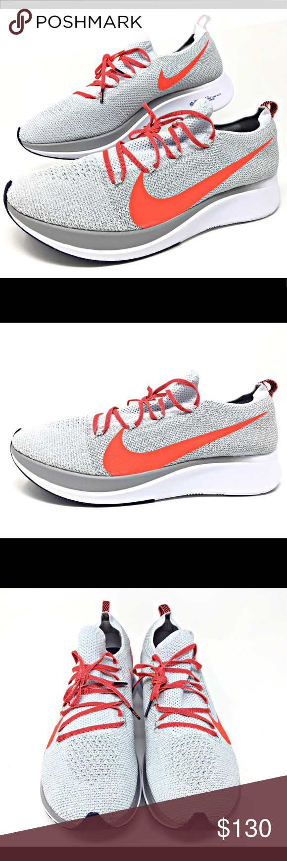 4c39fd6ec Nike Zoom Fly Flyknit Crimson Men's Running 12.5 Nike Zoom Fly Flyknit  Color: Pure Platinum