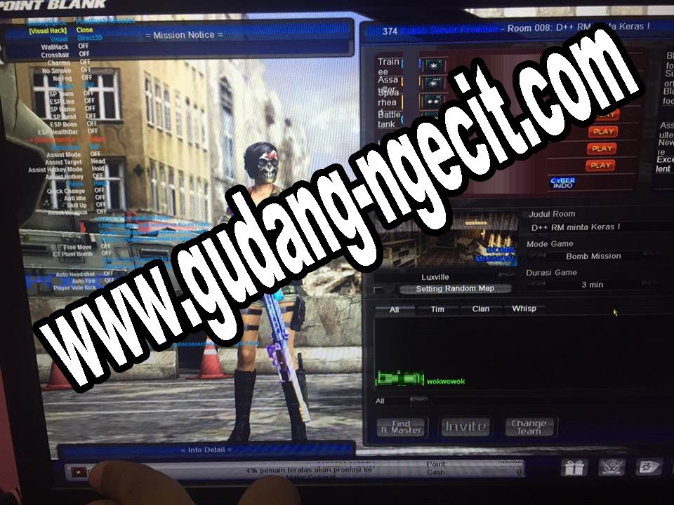 Cheat PB Garena Cheat Point Blank VVIP 2018 Anti Banned