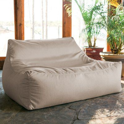 Grovelane Teen Bean Bag Sofa Upholstery: Flax in 2019 | Products ...