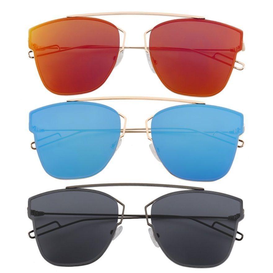 Polarized Sunglasses Round Vintage Retro Mirrored Unisex Eyewear Shades Mc