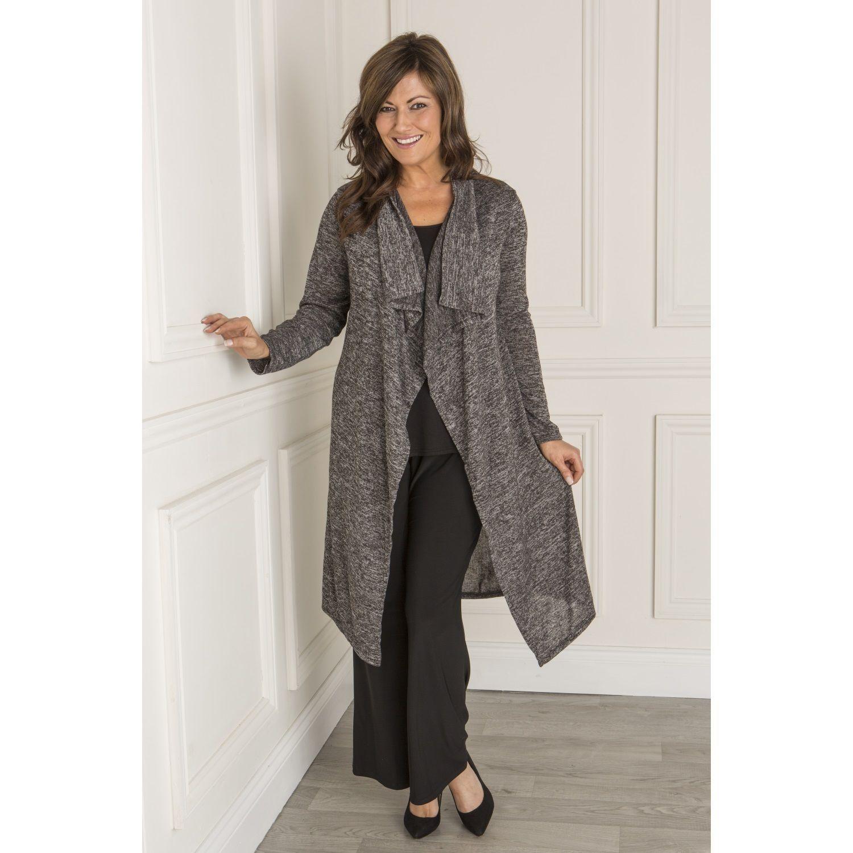 Nicole Waterfall Cardigan (349019)   Ideal World   Fashion ...