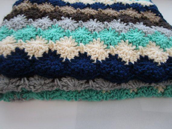 Diamond Stitch Crochet Afghan Pattern Easy Crochet Blanket Pattern
