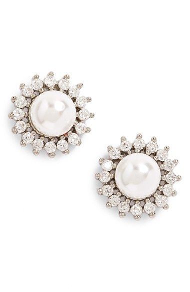 Samantha Wills Distance Of Dawn Faux Pearl Stud Earring Available At Nordstrom
