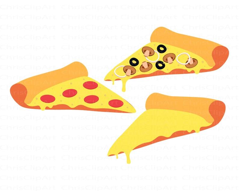 Pizza Svg Bundle Clipart Pizza Pizza Slice Svg Cricut Etsy In 2021 Clip Art Pizza Vector Svg