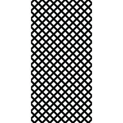 Grid Axcents 4 Ft X 8 Ft Black Traditional Vinyl Lattice 2 Pack 64867 The Home Depot Plastic Lattice Lattice Decorative Screen Panels