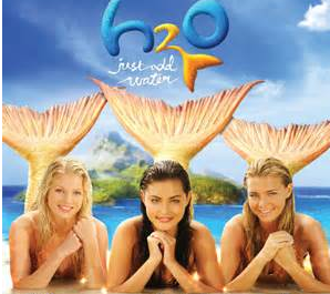 H2O just add water  I loved this show and now it's on Netflix
