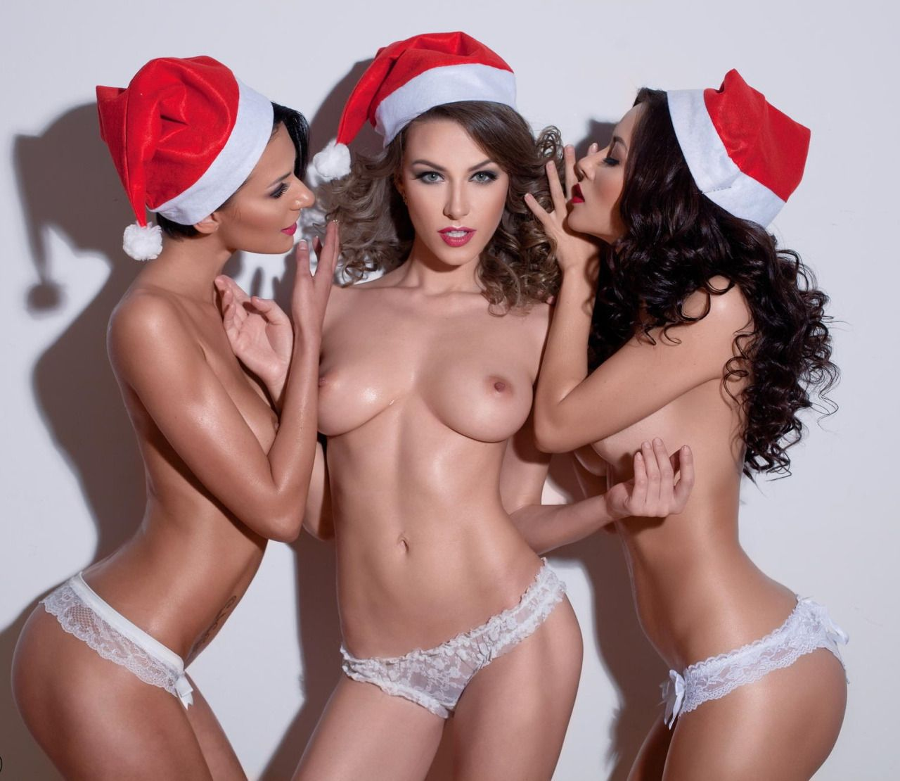 Sex santa sexy nude christmas girls
