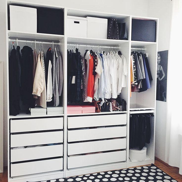 pin von auf pinterest kleiderschrank schrank und begehbarer kleiderschrank. Black Bedroom Furniture Sets. Home Design Ideas