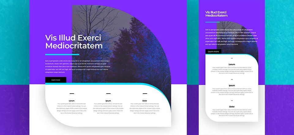 How to Creatively Use Divi's Row Borders to Create a