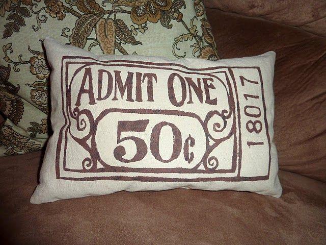 Media Room Pillows