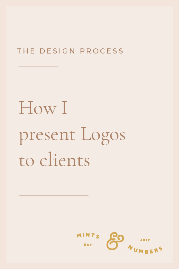How I Present Logos To Clients Maiden Studio Logo Design Presentation Branding Design Logo Graphic Design Business